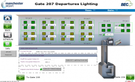 Departure Gate Lighting System