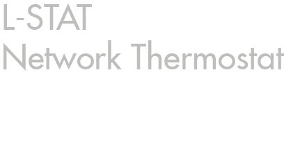 L-STAT Network Thermostat