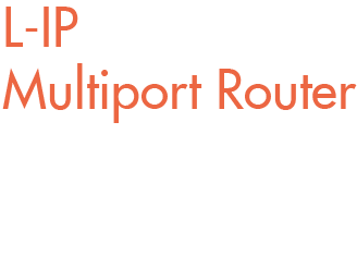 L-IP Multiport Router - Der LIP-3333ECTC ist die perfekte Router-Loesung fuer LonMark Systeme