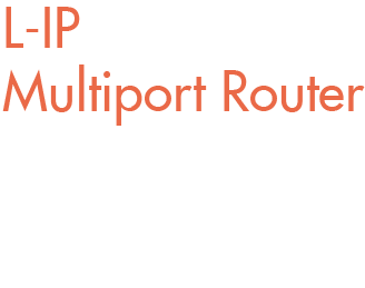 L-IP Multiport Router - The LIP-3333ECTC is the perfect multiport router solution for LonMark Systems